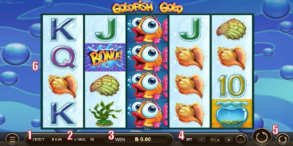 รายละเอียด หน้าเล่นเกมส์ปลาทอง