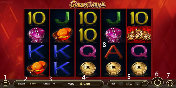 Play information golden jaguar slot