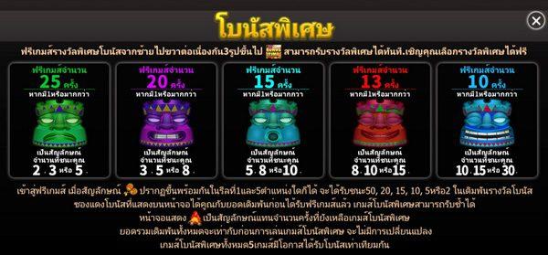 Special bonus TiKi Party Slot