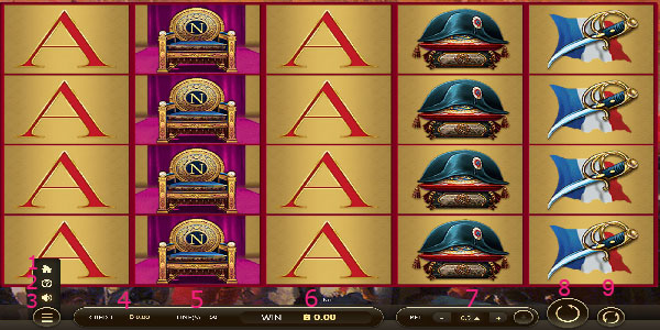How to play Napoleon Slot