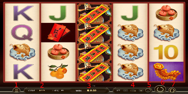 How to play new year slot